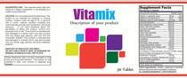 Graphic Design Entri Peraduan #42 for Creating Vitamin Bottle Labels - Will pick 10 Winners