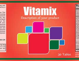 #45 for Creating Vitamin Bottle Labels - Will pick 10 Winners by EcoDesignstu