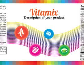 #51 untuk Creating Vitamin Bottle Labels - Will pick 10 Winners oleh EcoDesignstu