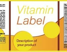 #2 untuk Creating Vitamin Bottle Labels - Will pick 10 Winners oleh vposmangiu