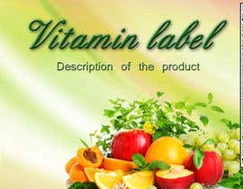#3 untuk Creating Vitamin Bottle Labels - Will pick 10 Winners oleh RuxkyStudio