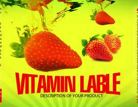 #7 untuk Creating Vitamin Bottle Labels - Will pick 10 Winners oleh deziner313