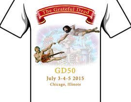 #3 untuk Design a T-Shirt for my GD50 group! oleh dillonhaley