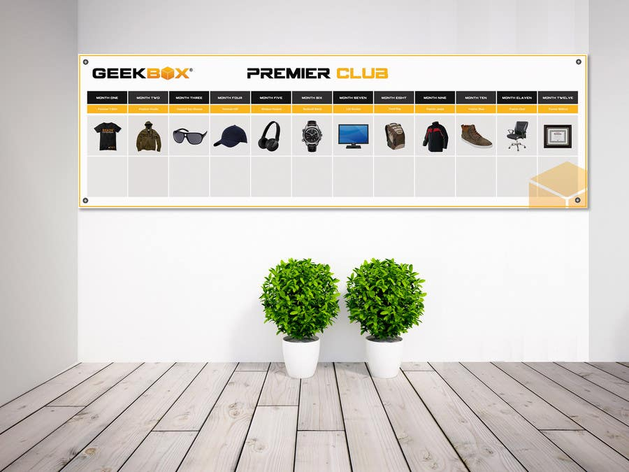 Contest Entry #                                        3                                      for                                         Design a Prize Banner for Company Wall (90 Inches (H) x 300 Inches (W))