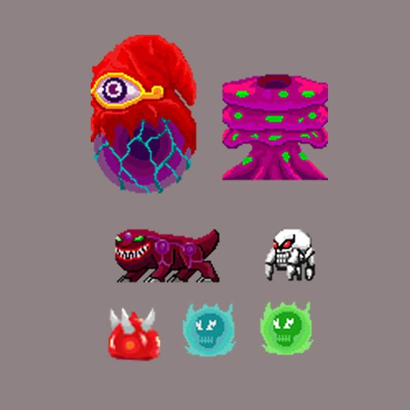 Bài tham dự cuộc thi #                                        22                                      cho                                         Game pixel art assets