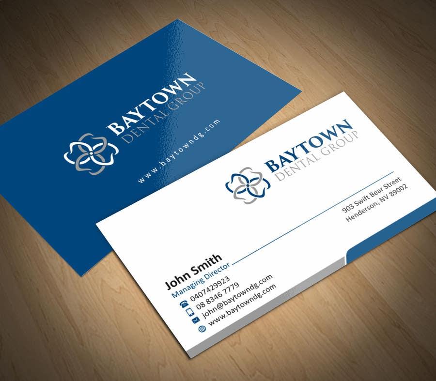 Konkurrenceindlæg #16 for Logo and Stationary Baytown Dental Group