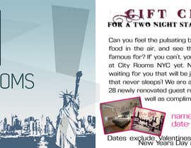 #12 for Design a Gift certificate fot a Hotel stay for 2 nights af Parnasus
