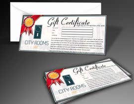 #10 for Design a Gift certificate fot a Hotel stay for 2 nights af russyiddin