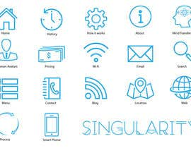 #19 cho Icon Set Needed in Illustrator for a project based in 2045 bởi khalid1995