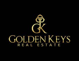 #57 for Design a Logo for Golden Keys Inc. by cbarberiu