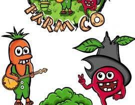 #68 for 'HillBilly Farm Co' logo design by kalerproduction