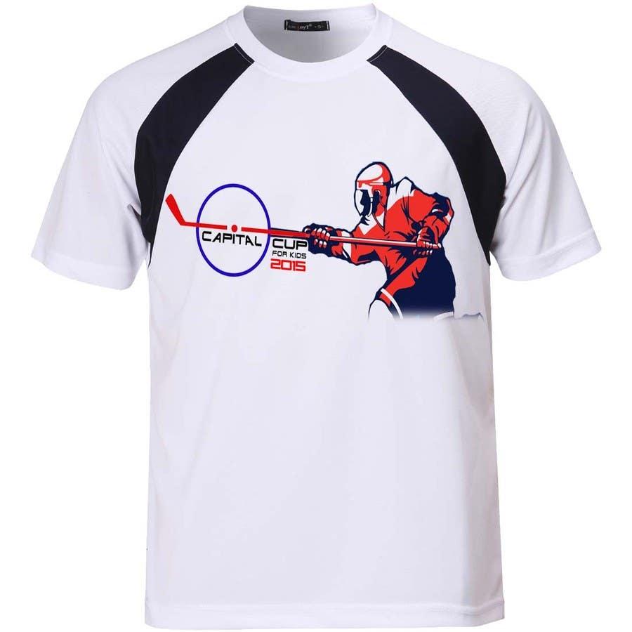 Konkurrenceindlæg #                                        22                                      for                                         Design a T-Shirt for a hockey tournament