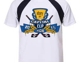 #31 untuk Design a T-Shirt for a hockey tournament oleh leostar371