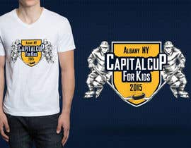 abuk007 tarafından Design a T-Shirt for a hockey tournament için no 16