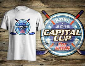 dsgrapiko tarafından Design a T-Shirt for a hockey tournament için no 36