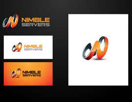 #137 para Logo Design for Nimble Servers de maidenbrands