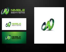 nº 139 pour Logo Design for Nimble Servers par maidenbrands