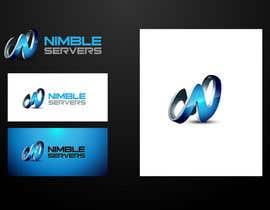 #138 pentru Logo Design for Nimble Servers de către maidenbrands