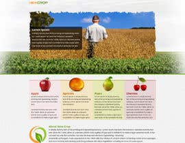 nº 3 pour Design a Website Mockup for NewCrop.com par tania06