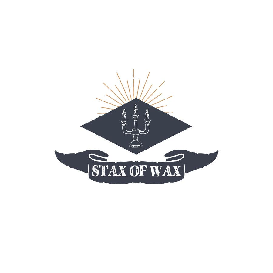 Konkurrenceindlæg #                                        26                                      for                                         Design a Logo for Stax of Wax candle making company