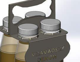 #3 para Design and Template for 4 bottle holder/carrier por vizavadsky