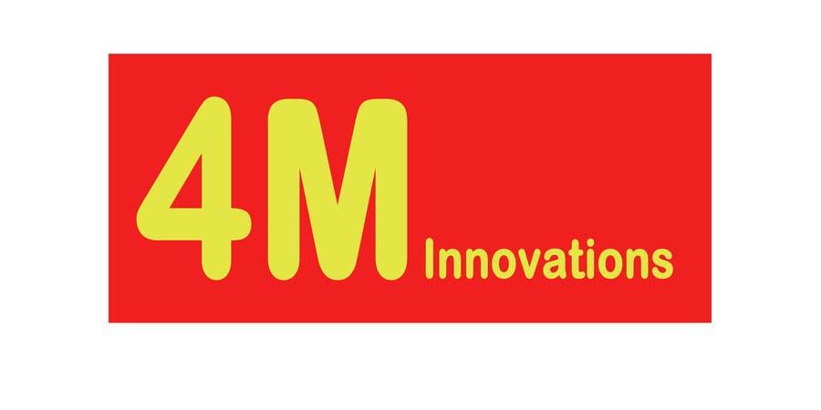 Inscrição nº 7 do Concurso para 4M innovations