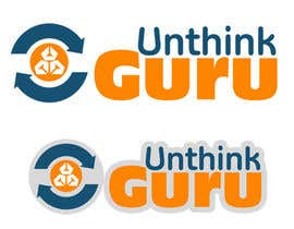 #8 for Design a Logo for Unthink Guru by andrijapajic