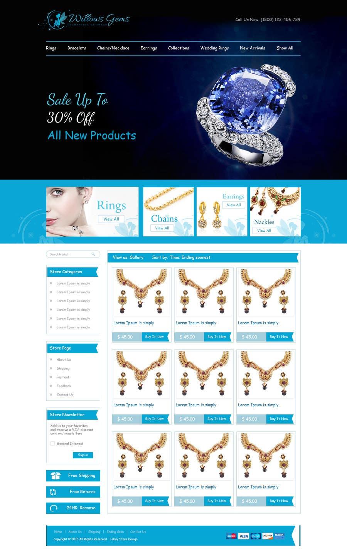 Konkurrenceindlæg #                                        4                                      for                                         Design a Ebay Store & Listing Template