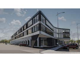 #60 for Retail/Office/Residential/Restaurant Mixed Use Development Architectural Concept Design Contest by cgjr96
