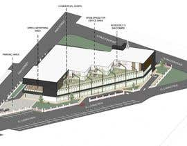 #54 for Retail/Office/Residential/Restaurant Mixed Use Development Architectural Concept Design Contest by shubhivaid17