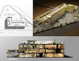 #37 for Retail/Office/Residential/Restaurant Mixed Use Development Architectural Concept Design Contest by SepSol