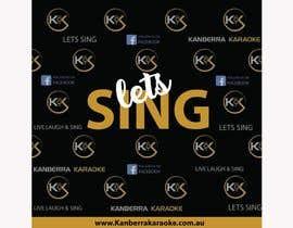 #10 for KANBERRA KARAOKE MEDIA WALL by amnaarshad550