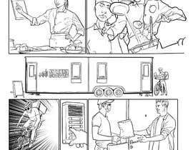 Nro 18 kilpailuun Comic book strips and design - Fun project for the creative one! käyttäjältä berragzakariae