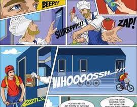 Nro 30 kilpailuun Comic book strips and design - Fun project for the creative one! käyttäjältä Denisdean
