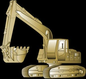 #11 cho 3D illustration of a construction machine bởi graphicdesign001