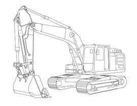 #9 for 3D illustration of a construction machine af nonie26
