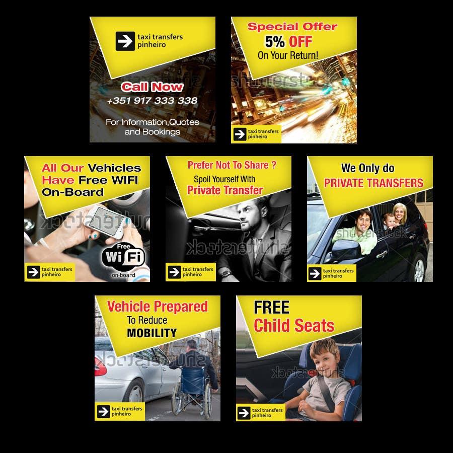 Konkurrenceindlæg #                                        60                                      for                                         Design a Banner for  Taxi Pinheiro