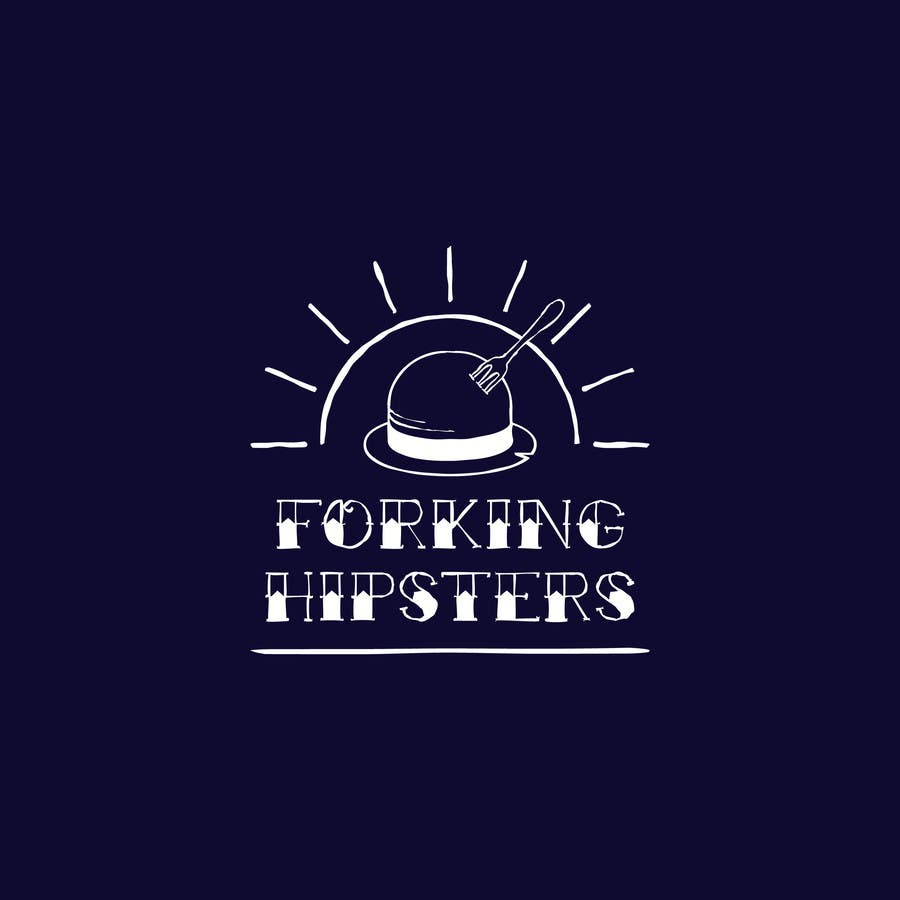 Proposition n°                                        17                                      du concours                                         Design a Logo for FOOD TV SHOW with hipster theme.