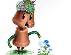 Nro 16 kilpailuun Drawing Contest - Draw a Gardening Golem! käyttäjältä Aohitsuki
