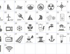 nº 15 pour Pictograms for a Boat Booking Website par Bervanince