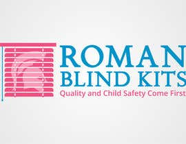 #16 cho Design a Logo for romanblindkits.co.uk bởi ganjar23
