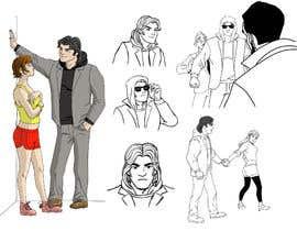 Nro 47 kilpailuun Illustrate a character (contest) käyttäjältä topdrawer