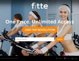 #15 para Design a Website Mockup for Fitness Business por htanhdesign