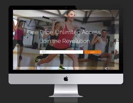 #7 para Design a Website Mockup for Fitness Business por amzilyoussef18