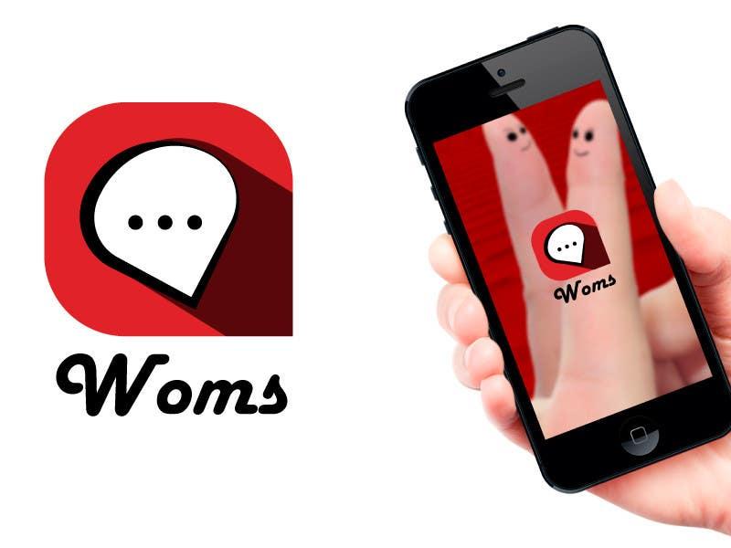 Konkurrenceindlæg #                                        4                                      for                                         Logo and SplashScreen design for APP WOMS