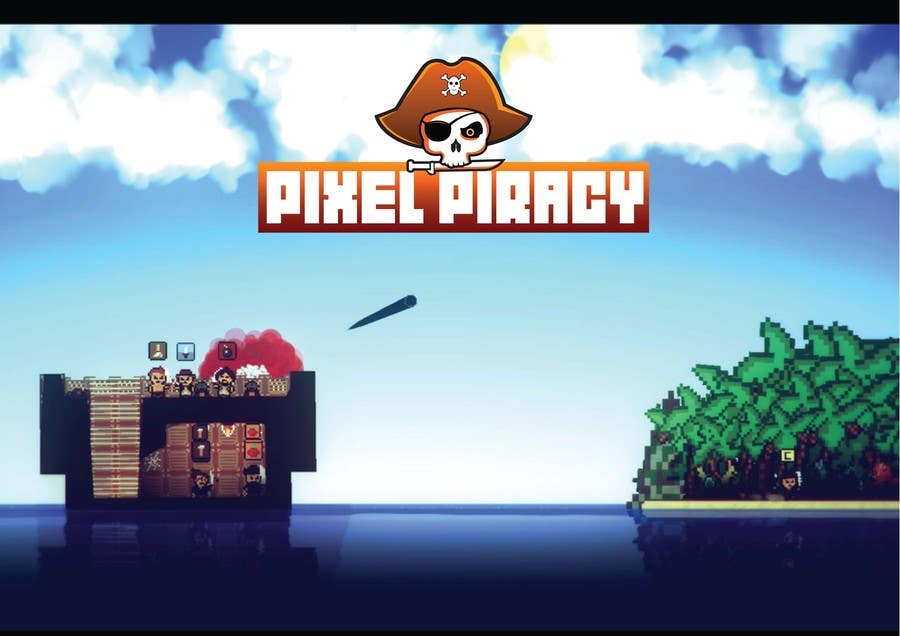 Inscrição nº 67 do Concurso para Logo for the game: Pixel Piracy