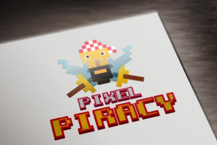 Inscrição nº 10 do Concurso para Logo for the game: Pixel Piracy