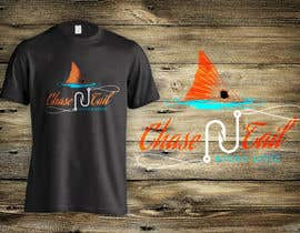 #8 for Tshirt for a fishing company, Chase-N-tail by dsgrapiko