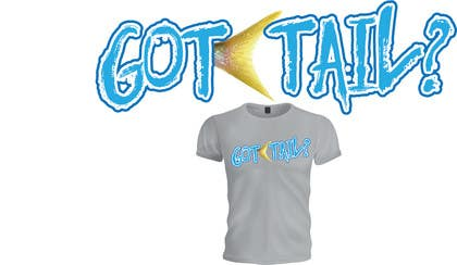 #7 untuk Tshirt for fishing company: Got tail? oleh yaris196