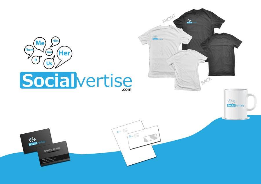 Entri Kontes #159 untukLogo Design for Socialvertise